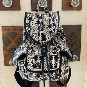 Handbags - BACKPACK | 🖤Black and White Tribal Design🖤